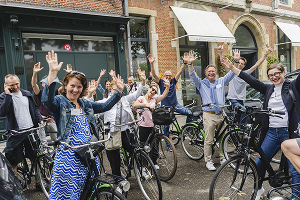 Interior Cycling Tour in Gent