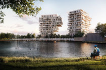 Bouw Waterfront-torens in Waregem start dit voorjaar