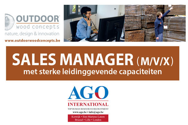 OUTDOOR WOOD CONCEPTS: Sales Manager via AGO International