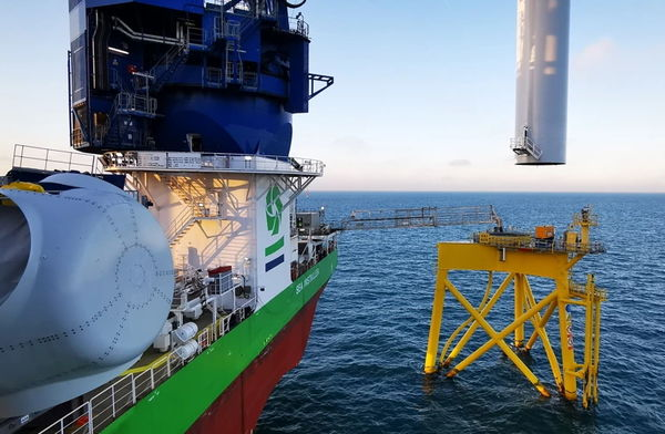 DEME Offshore installeert 2.200 windturbines
