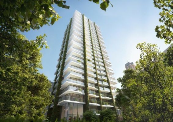 Immobel bekleedt Eden Tower met 185.000 planten