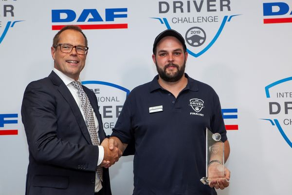 Peter Jacobs is DAF Driver Challenge Champion 2019