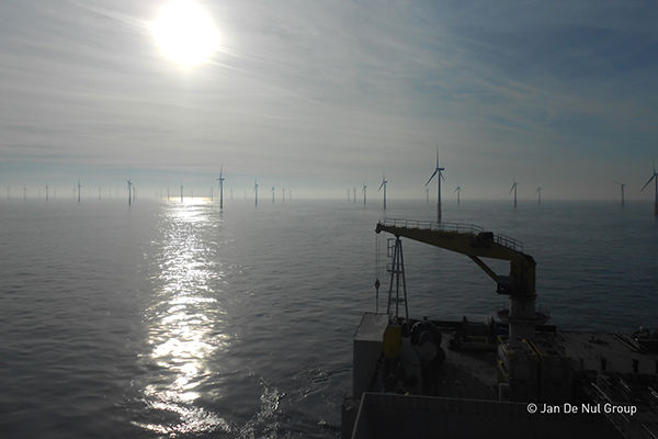 Jan De Nul bouwt windpark Northwester 2