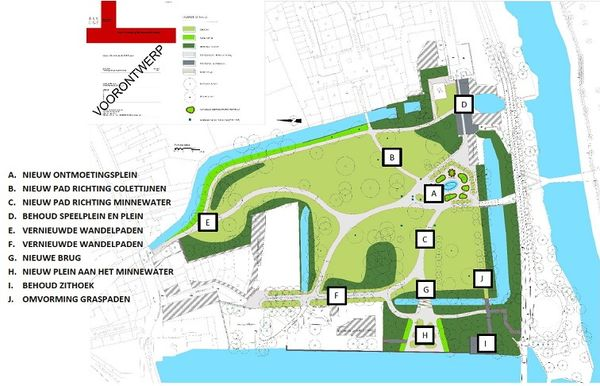 Metamorfose voor Brugs Minnewaterpark