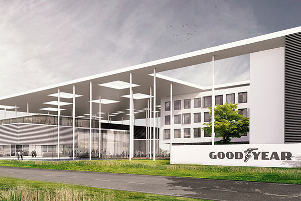 Félix Giorgetti & AG Real Estate bouwen voor Goodyear