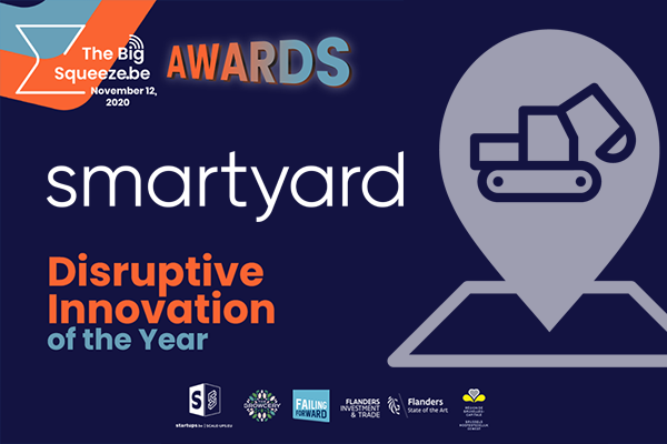 Smartyard wint Disruptive Innovation Award